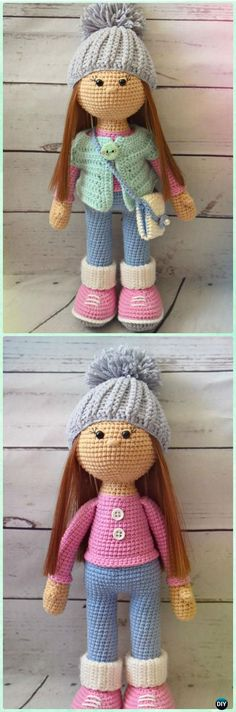 Amigurumi Crochet Molly Doll Free Pattern - Crochet Doll Toys Free Patterns