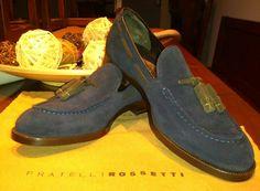 Italian loafer.  Fratelli rossetti Brera