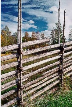 Swedish fence - Google Search