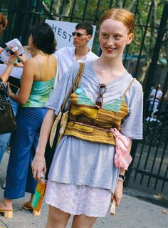The best street style looks from New York Fashion Week. Photographed by Phil Oh.