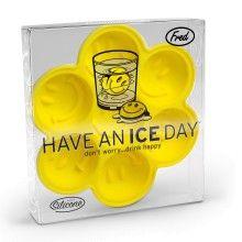 """Bandeja de cubitos emoticonos – """"have an ice day"""""""