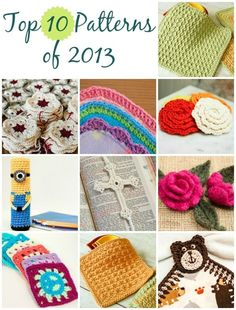 Top 10 Free Crochet Patterns of 2013 by wazzy