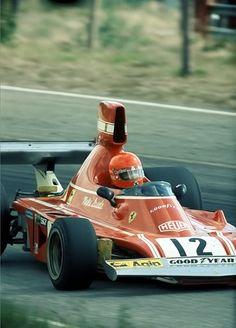 niki lauda ferrari   Niki Lauda , Ferrari 312T . Anderstorp 1975