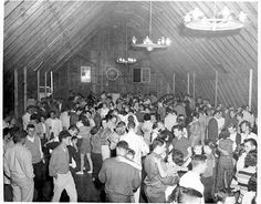 Interior of the Soc Hop  by jocolibrary, via Flickr  dance fun happiness