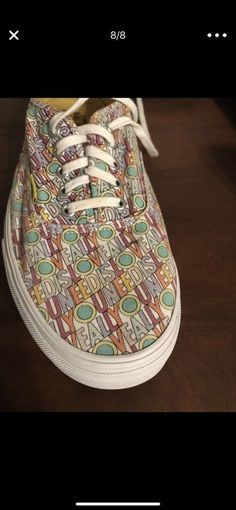 Vans Size 12 The Beatles Yellow Submarine All We Need Is Love Shoes   fashion   59b501652