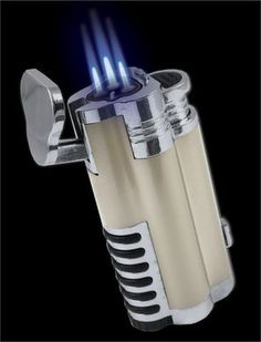 Click Image Above To Buy: Gentleman's Triple Torch Cigar Lighter With Retractable Hole Punch Cool Lighters, Cigar Lighters, Custom Lighters, Good Cigars, Cigars And Whiskey, Best Cigar Lighter, Best Torch, Premium Cigars, Cigar Accessories