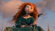 Merida and Hiccup