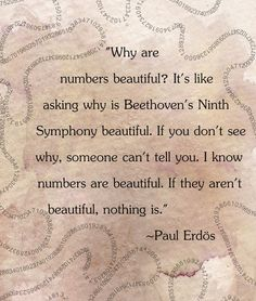 why are numbers beautiful - Google Search
