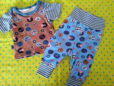 Shirt und Hose nach der zwergenverpackung 1und 2 von farbenmix ... genäht von Sarah D.