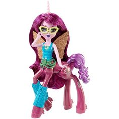 Monster High Fright-Mares Penelope Steamtail