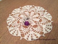 Crochet Coaster, Crochet Motif, Coasters, Coaster