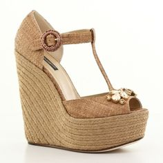 Dolce et Gabbana chaussures printemps été 2014