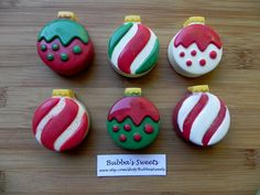 Christmas Ornament Chocolate Covered Oreos