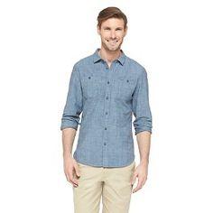 Jeffrey Max Men's Slub Chambray Shirt - Indigo. Get superb discounts up to 50% Off at Target with Coupons and Promo Codes.