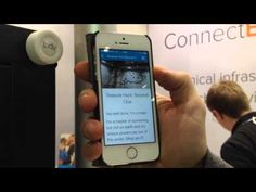 iBeacon treasure hunt at the Bett 2015 Education show in London.  Use locly to easly set up your own treasure hunt in the classroom!
