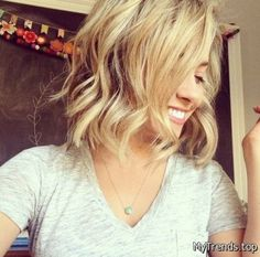 15 Cute Chin-Length Hairstyles for Short Hair 2016-2017 – My Fashion Trends
