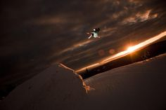 Suck a awesome park skiing picture