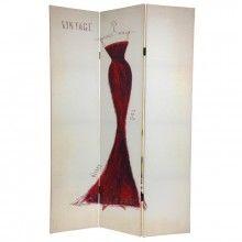 $99- Paris Themed Mannequin Room Divider
