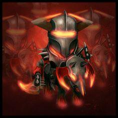 Chaos Knight by Levelten.deviantart.com on @deviantART Dota 2, Iron Man, Nerdy, Knight, War, Fan Art, Deviantart, Superhero, Amazing