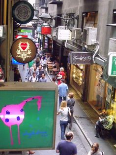 centre place Melbourne Laneways, Sandwich Board, Sense Of Place, Wall Patterns, Shop Signs, Beautiful Space, Signage, Centre, Drawing Models