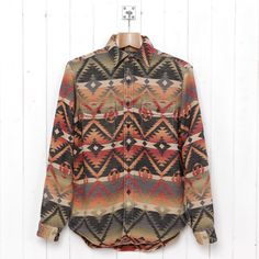 first rate 8ce1d 74fcf Cool, but I feel this is something a white dude just cannot pull off. RL  Navajo Print Beacon Shirt via Oi Polloi