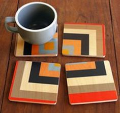 Creative coasters - perfect gift for mom