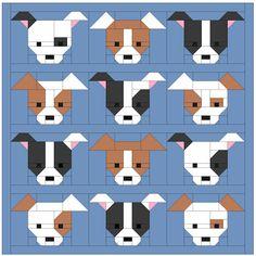 Sew Fresh Quilts: Dog Gone Cute - Blocks 7 & 8