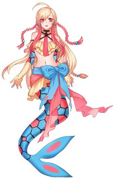 Milotic normal gijinka