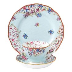 Royal Albert - Candy Collection Sitting Pretty Set 3pce | via Alicia Nail