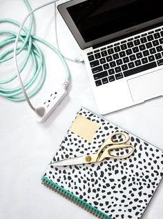 The Smallest Change to Instantly Improve Any Room. Using Cordinates by Jasco will get rid of the eyesore of extension cords. Extension Cords, Home Organization Hacks, Modern Desk, Small Changes, Home Automation, Save Energy, Clean House, Cleaning Hacks, Dorm Room