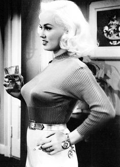 Old Hollywood / Mamie Van Doren (born Joan Lucille Olander; February 6, 1931)