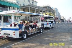 the boardwalk tram