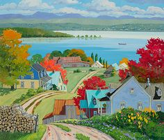 Ile Madame, Louise Martineau. Amazing eye for composition and color!