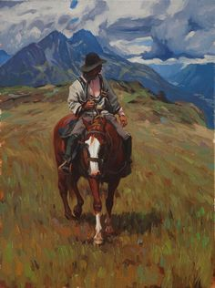 A Fine Art gallery selling original paintings, drawings, and sculptures in Los Angeles. Specializing in contemporary Western Art and contemporary realism. Animal Paintings, Animal Drawings, Drawing Animals, Western Landscape, Ecole Art, Cowboy Art, Le Far West, Mountain Man, Western Art