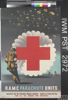 Abram Games, R.A.M.C PARACHUTE UNITS - Second World War (content)