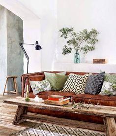 Koti Tanskassa - A Home in Denmark Bolig Magasinet Tämän kodin sisustamisessa on käytetty rustiikkisia ja moderneja huonekaluja ja ...