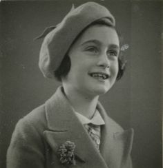 Anne Frank, 7 years old - May 1937.