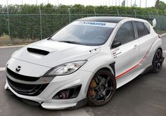 Mazda 3 MPS - Earth66.com