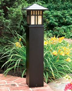 Art Deco and Mission Style Path Lights and Landscape Lighting