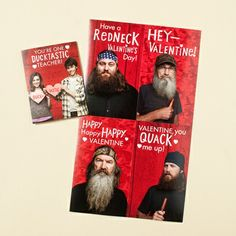 Duck Dynasty - Children's Valentines - 33 Boxed Cards