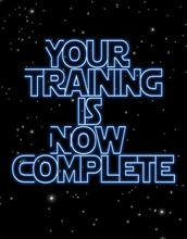 star+wars+graduation | Preview Card Your Training Is Now Complete