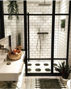 Get this look with the 10x20cm subway tile! Buy Online! http://www.tilestonepaver.com.au/epages/shop.sf/secb61b4bb7aa/?ObjectID=36025