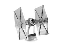 TIE Fighter Imperial Navy Starfighter Star Wars stainless steel 3D metal model for DIY metal projects from http://metalangelo.com/collections/star-wars/products/tie-fighter