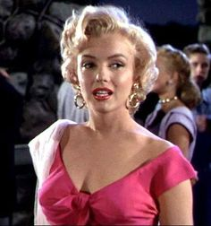"Marilyn Monroe in the movie ""Niagara"" directed by Henry Hathaway."