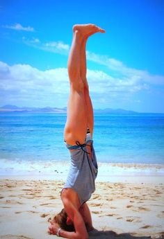 Fitness goal (head stand!)