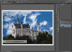 1 #PhotoshopComeFare ad aggiungere un Bordo trasparente a una Foto in Ps