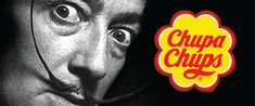 The Chupa Chups logo was designed in 1969 by artist Salvador Dalí.