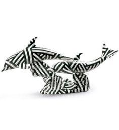 Lladro 09162 DOLPHINS' DANCE (DAZZLE) http://www.lladrofromspain.com/0dodad.html  Issue Year: 2016  Sculptor: Francisco Catalá  Size: 20x41 cm  #lladro #dolphin #dance #newtrends #porcelain