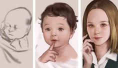 From Baby To Adult Painting