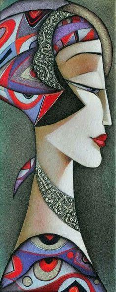 Ispirated by art Deco - Ira Tsantekidou